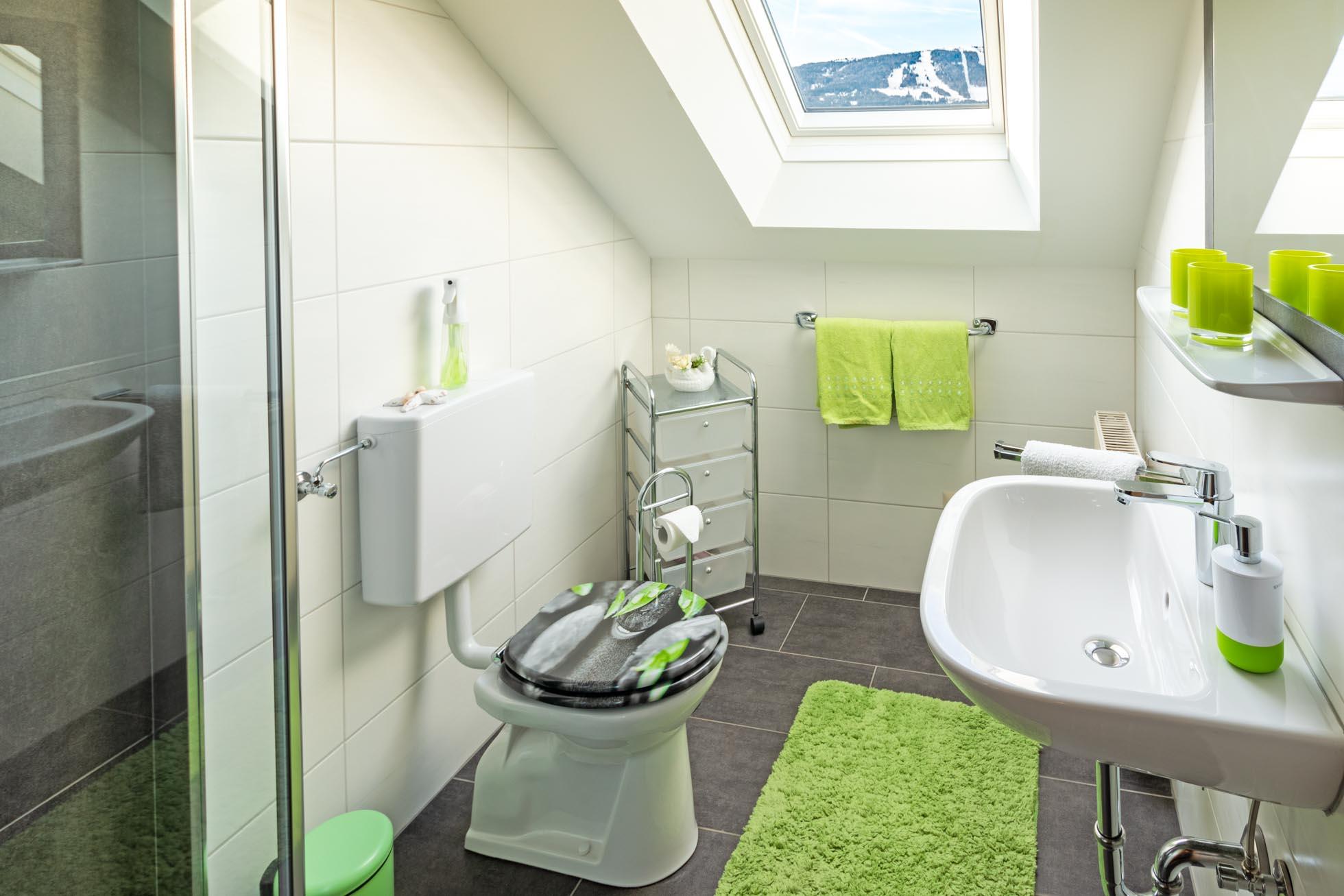 Badezimmer Ferienwohnung Apartment In Mariapfarr Im Salzburger Lungau